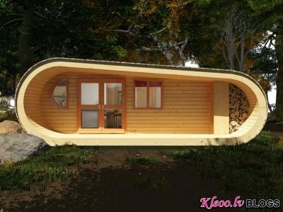 Eco Perch  - koka māja.