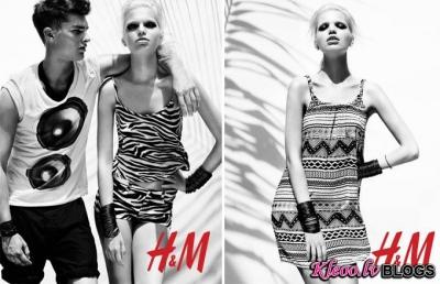 H&M Season of Sun 2012 .