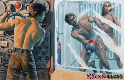Mākslinieks Mort Kunstler .