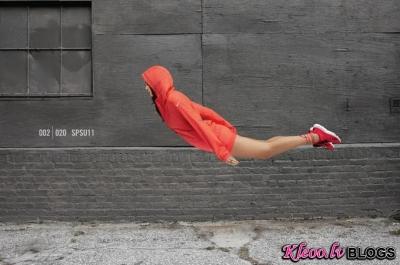 Fotosesija «Be Free» no Nike.
