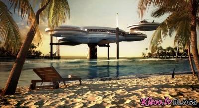 Zemūdens viesnīca Dubajā.