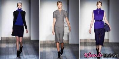 Victoria Beckham rudens  2013 Ready-to-Wear no Ņujorkas.