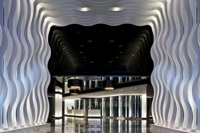 Mira viesnīcas interjers Honkongā