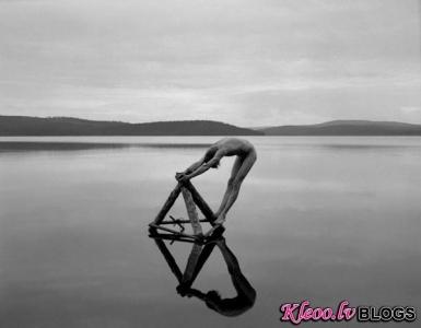 Fotogrāfs Arno Minkkinen .