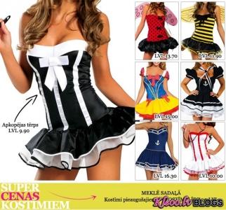 Kostimi.lv jaunā lētā kostīmu kolekcija!