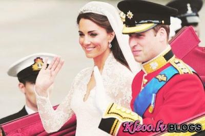 Karaliskās kāzas - Kate Middleton un Prince William!