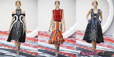 London fashion week: Peter Pilotto 2013.