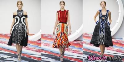 London fashion week: Peter Pilotto 2013.