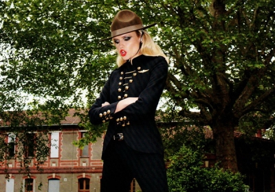 Natasha Poly un Terry Richardson Vogue Paris