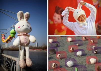 Ķīniešu Jaunais gads Pekinā.