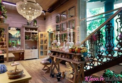 Ziedu veikals Kijevā.