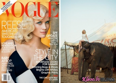 Reese Witherspoon  Vogue US.