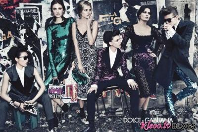 Dolce & Gabbana un Marc Jacobs (rudens - ziema 2011-12)
