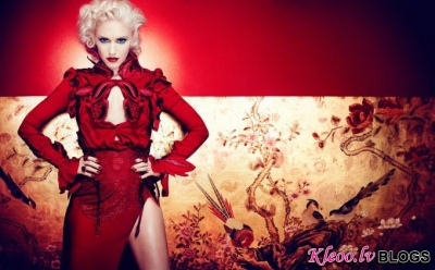 Gwen Stefani žurnālā InStyle .