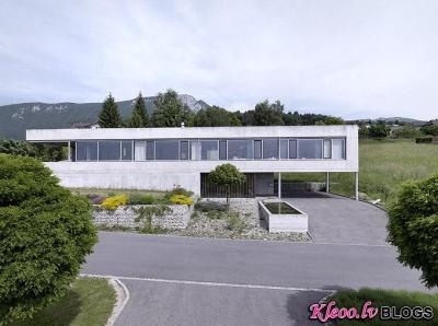 Māja Šveicē.