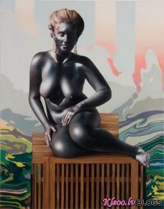 Māksliniece  Jennifer Nehrbass .