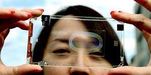 Первый в мире прозрачный смартфон