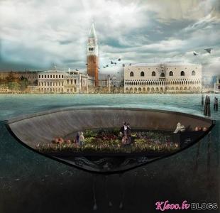 Salas Venēcijas kanālos.