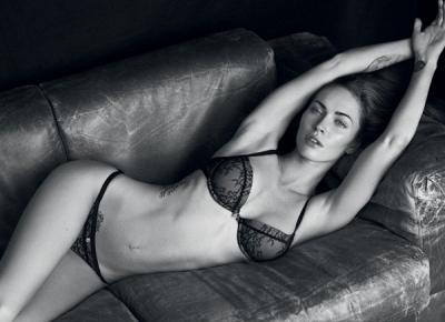 Megan Fox – Emporio Armani apakšveļas foto-sesija