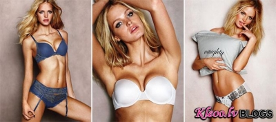 Erin Heatherton un Victoria's Secret.