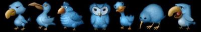 Twitter ikonas- Ugly Birds .