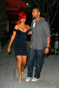 Rihanna pēc vakariņām
