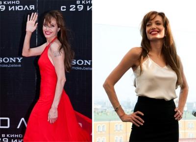 Angelina Jolie Maskavā