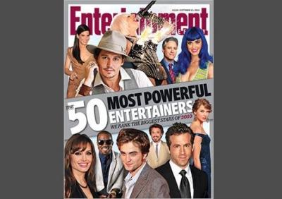 Джонни Депп и Леди GaGa – самые влиятельные артисты