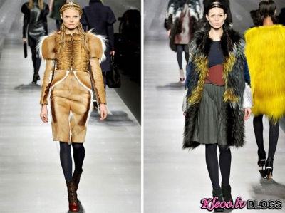 Fendi Fall 2012 | Milan Fashion Week .