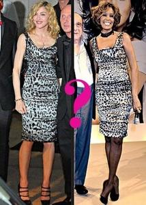 Battle - Madonna VAI Whitney Houston???