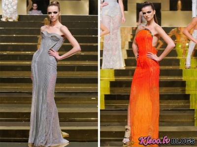 Atelier Versace haute couture (pavasaris 2012) .