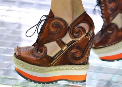 Karstākās kurpes no Milānas modes nedēļas