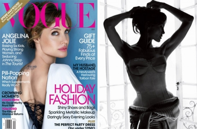 Angelina Jolie priekš Vogue US