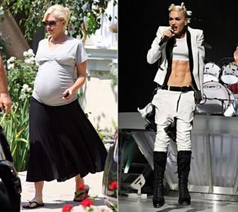 Slavenas sievietes grūtniecības laikā un pēc.