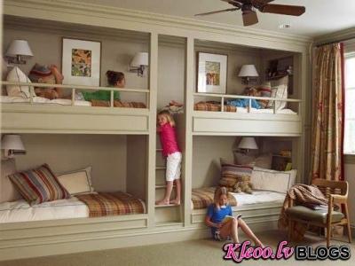 Daudz bērnu maz vietas?