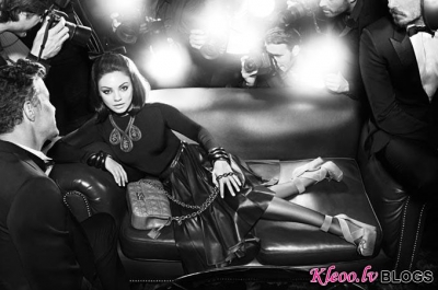 Miss Dior somiņu reklāma.