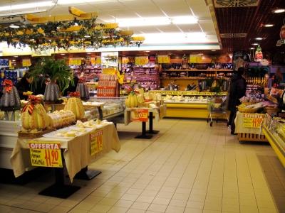 Īss brīdis itāļu lielveikalā pirms Ziemassvētku maltītes:)