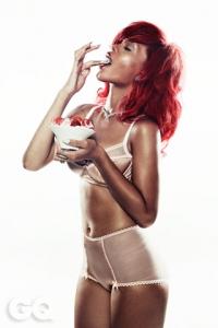 Rihanna – GQ UK Magazine (Janvāris 2011)