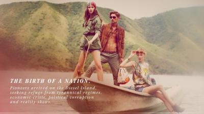 Diesel Island reklāmas kampaņa.