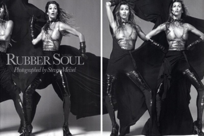Gisel Bundchen priekš Vogue Italia