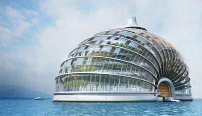 """""""Ковчег"""" - проект биоклиматического здания, которому не страшны погодные катаклизмы"""