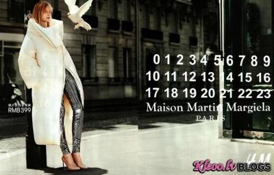 Dizaineris Maison Martin Margiela priekš H&M.
