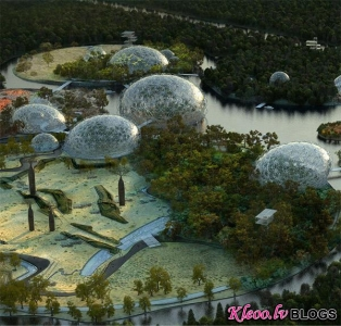 Jauns zoodārza projekts Sanktpēterburgā.