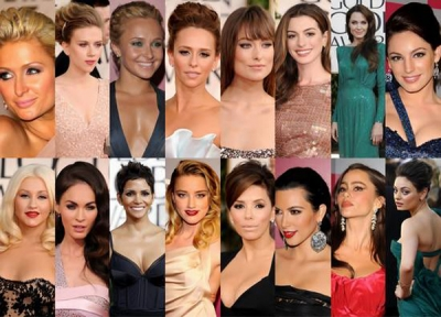 "Dažādas zvaigznes pasākumā ""68th Annual Golden Globe Awards"""