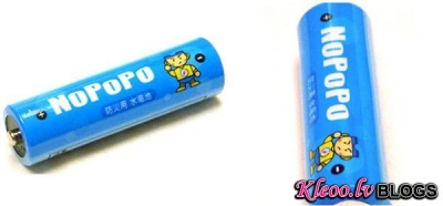 APSJ NoPoPo: батарейки, которые работают на воде