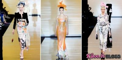 Armani Privé Fall 2011 augstās modes nedēļā Parīzē.