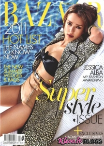 Jessica Alba priekš Harpers Bazaar January/ February 2011