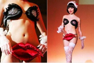 Мода на женское нижнее бельё в Японии