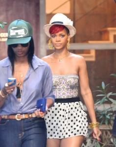 Rihanna – pastaiga Los Andželosā