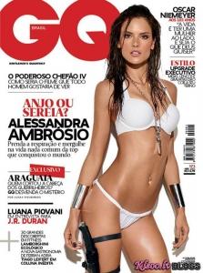 Alessandra Ambrosio – GQ Brazil Žurnālā (Aprīlis 2011)
